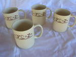707-4 Coffee Cups, Set of 4
