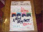 Original Beatles 1964 Poster